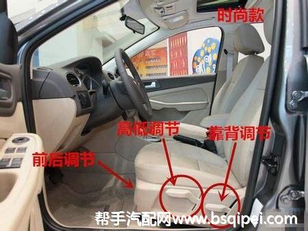 駕駛員座椅調節器